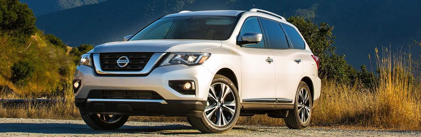 2018 Nissan Pathfinder exterior design