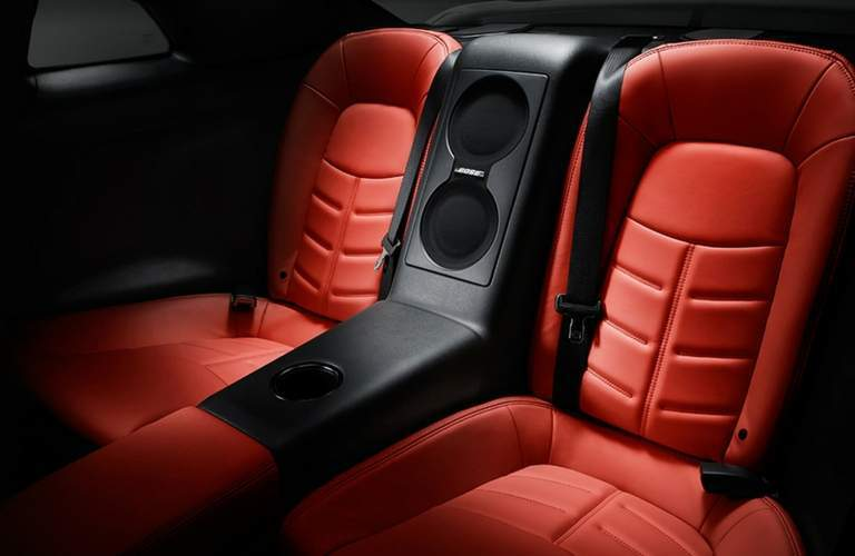 2018 Nissan GT-R back seats.