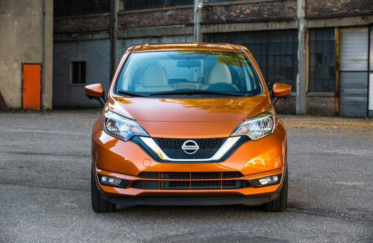 2018 Nissan Versa Note front grille