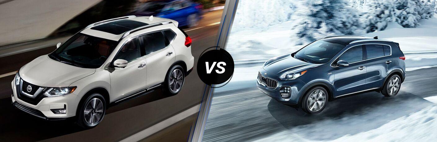 2019 Nissan Rogue VS 2019 Kia Sportage