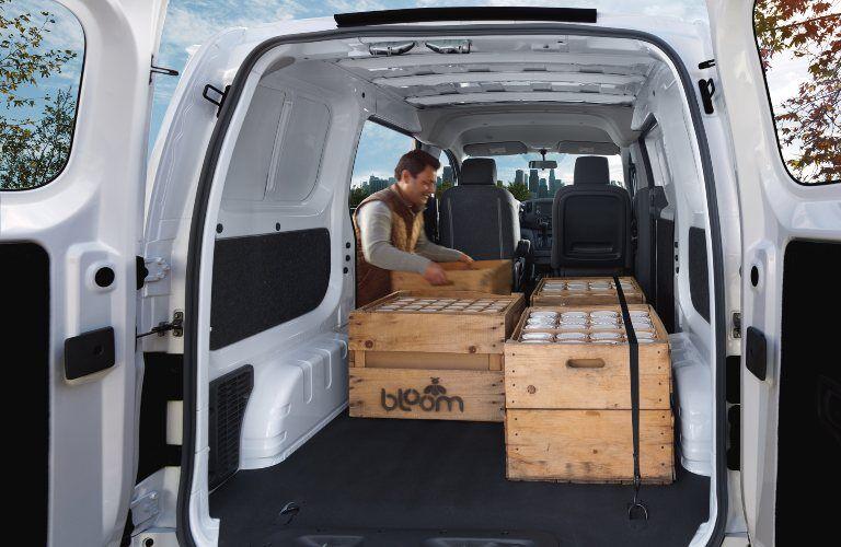 2019 NV200 cargo area