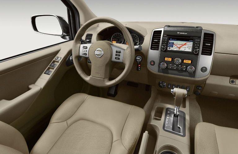 2019 Nissan Frontier dashboard
