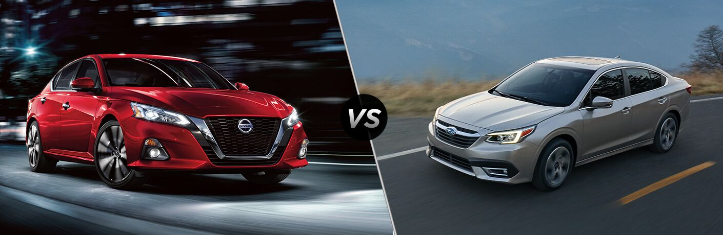 2020 Nissan Altima vs 2020 Subaru Legacy