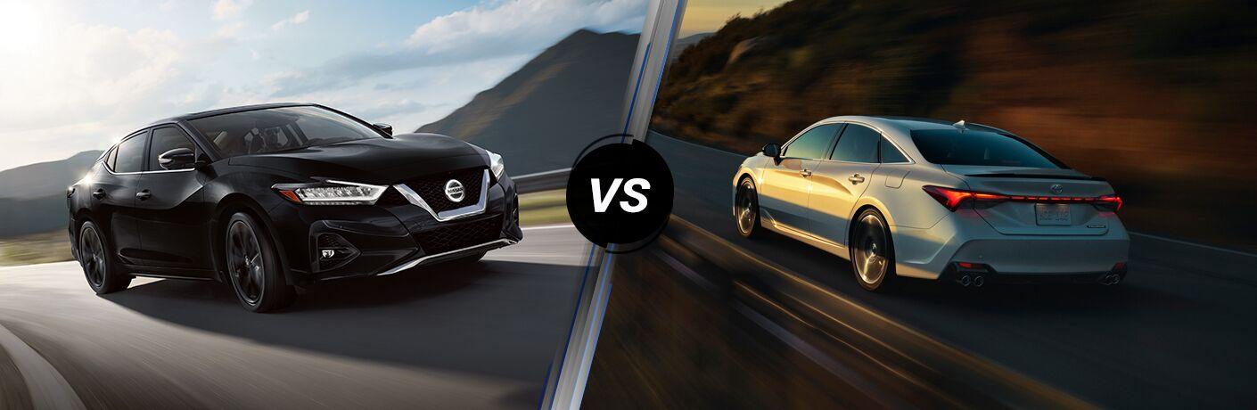 2020 Nissan Maxima vs 2020 Toyota Avalon