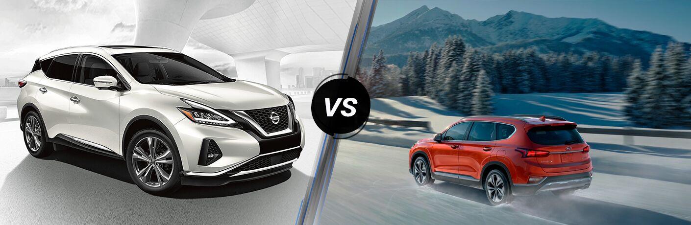2020 Nissan Murano vs 2020 Hyundai Santa Fe