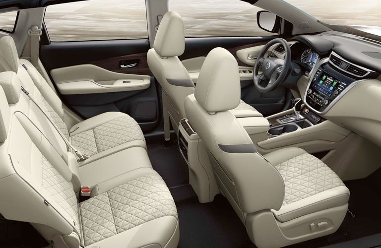 2021 Nissan Murano cabin