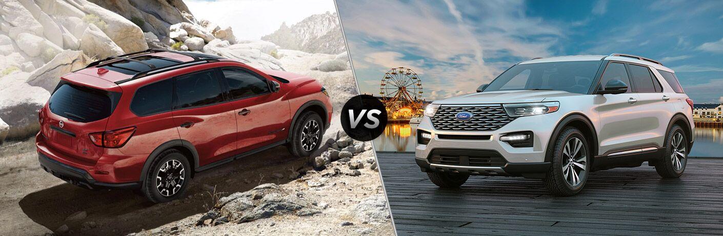 2020 Nissan Pathfinder vs 2020 Ford Explorer