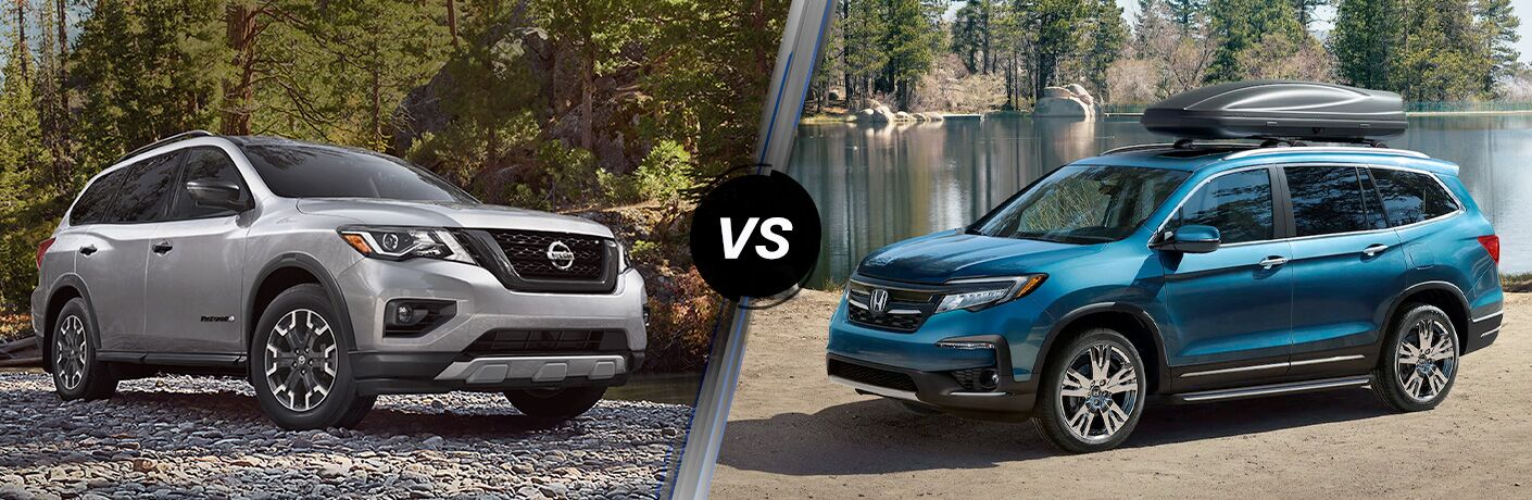 2020 Nissan Pathfinder vs 2020 Honda Pilot