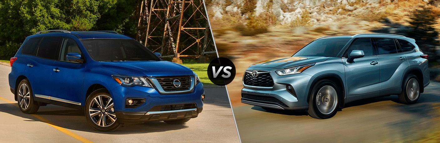 2020 Nissan Pathfinder vs 2020 Toyota Highlander