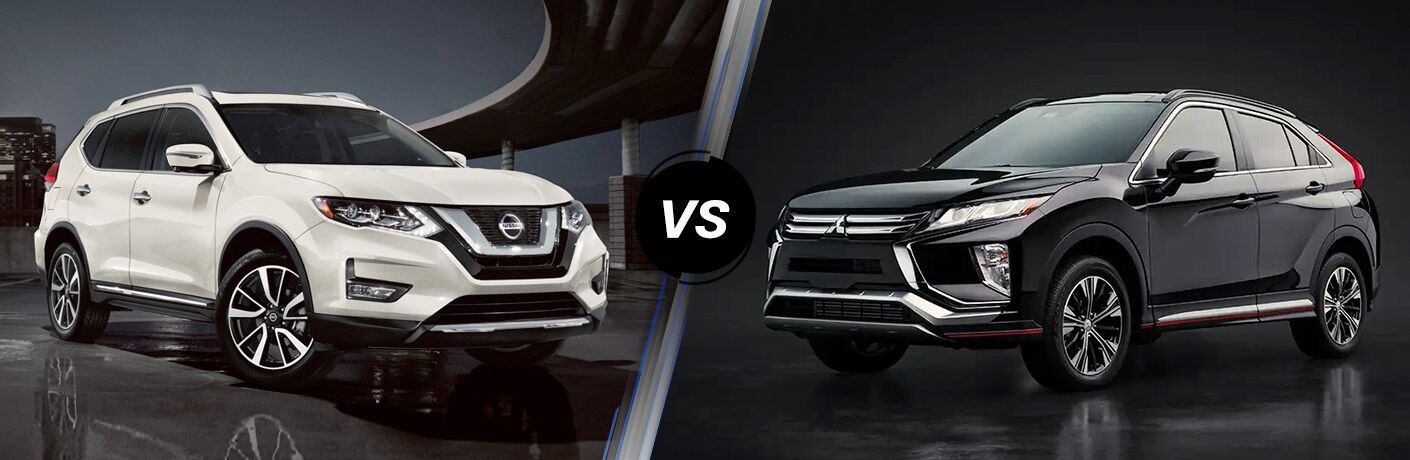 2020 Nissan Rogue vs 2020 Mitsubishi Eclipse Cross