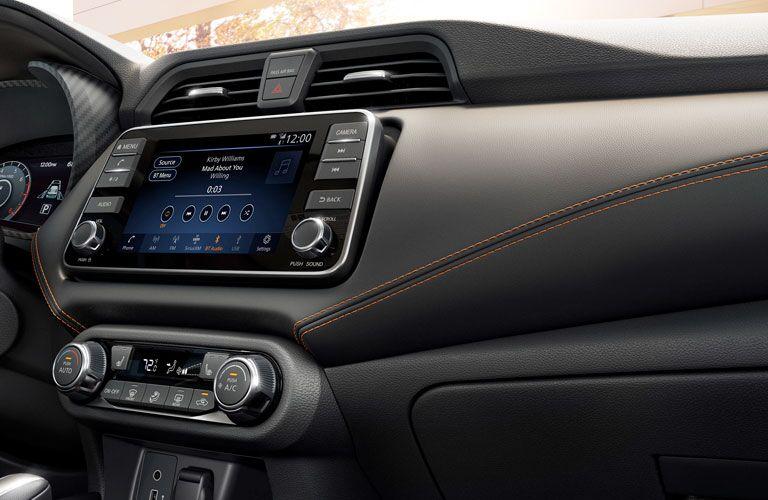 2020 Nissan Versa infotainment system