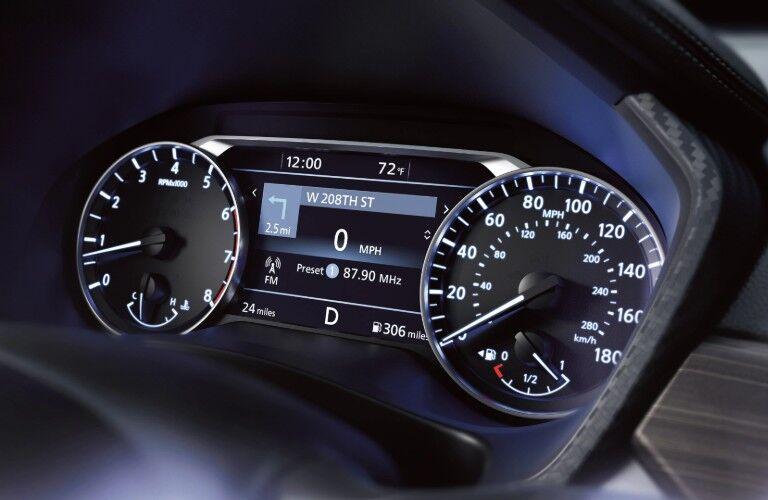 2020 Nissan Altima gauge cluster