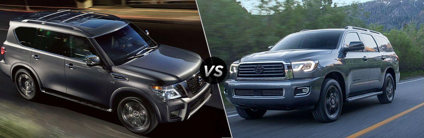 2020 Nissan Armada vs 2020 Toyota Sequoia