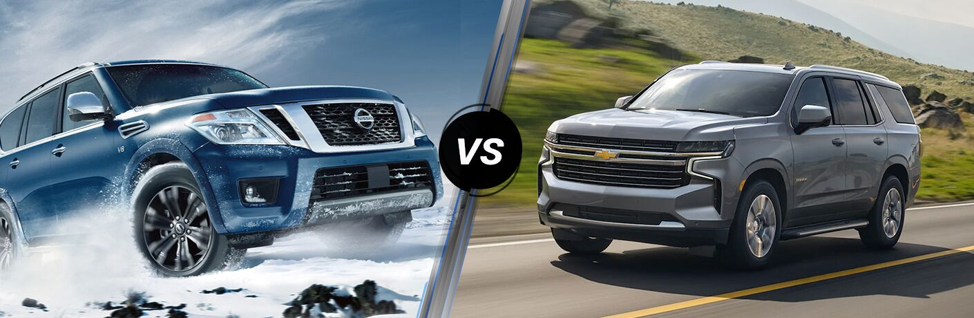 2021 Nissan Armada vs 2021 Chevrolet Tahoe