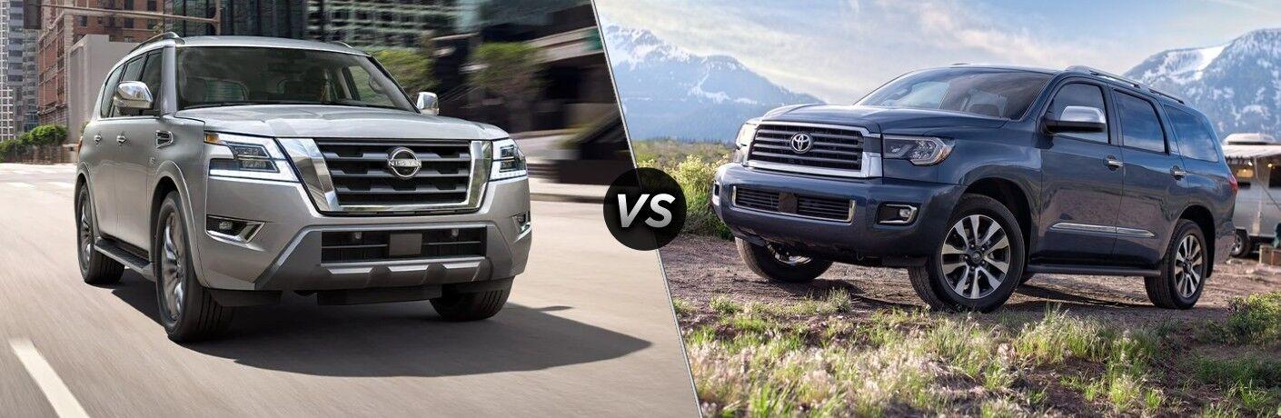2021 Nissan Armada vs 2021 Toyota Sequoia