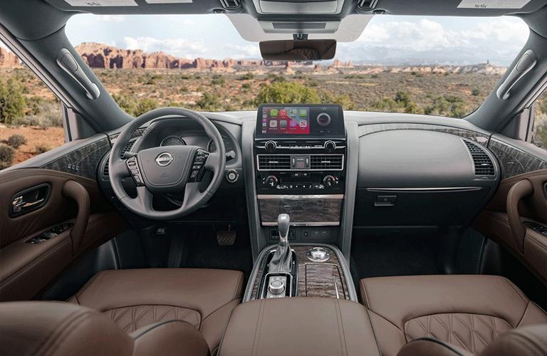2021 Nissan Armada dashboard