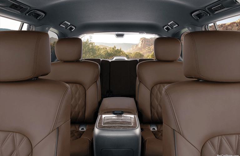 2021 Nissan Armada interior