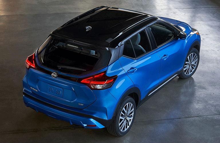 2021 Nissan Kicks from above