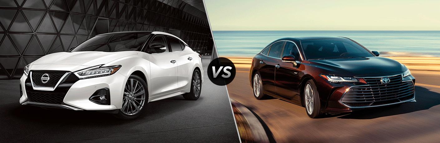 2021 Nissan Maxima vs the 2021 Toyota Avalon