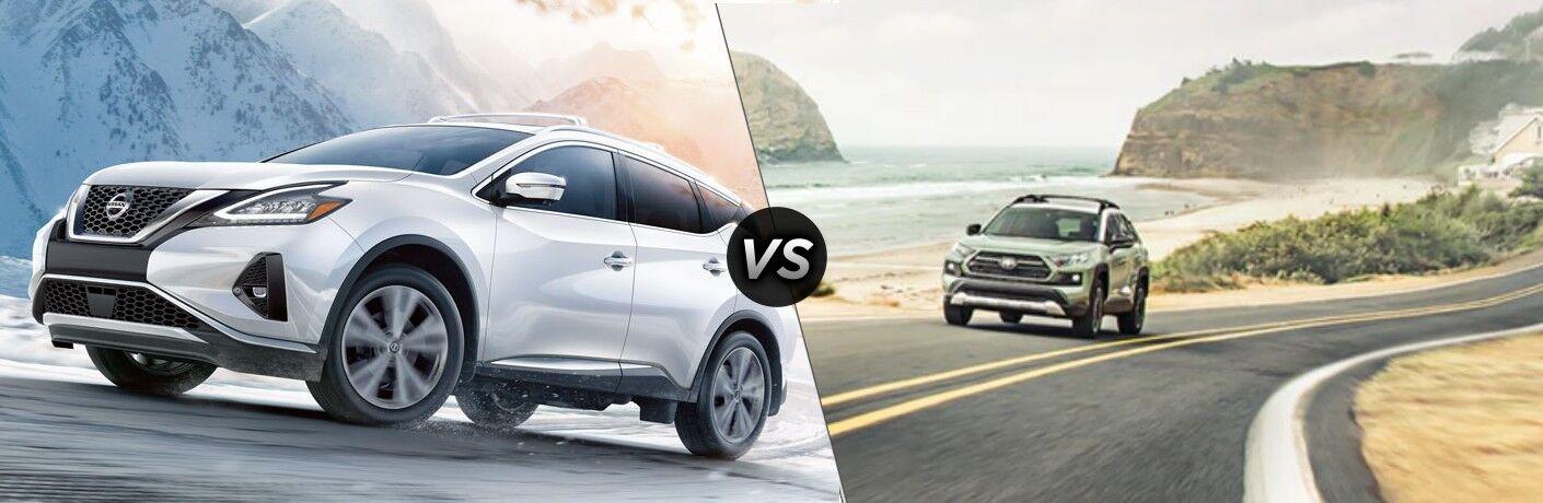2021 Nissan Murano vs the 2021 Toyota RAV4