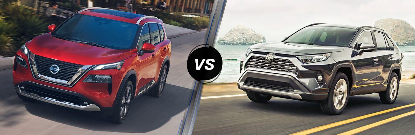 2021 Nissan Rogue vs 2021 Toyota RAV4