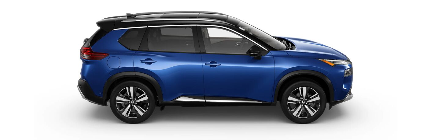 2021 Nissan Rogue from the side