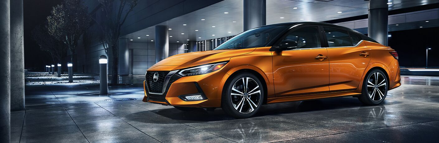 2021 Nissan Sentra parked in a lot
