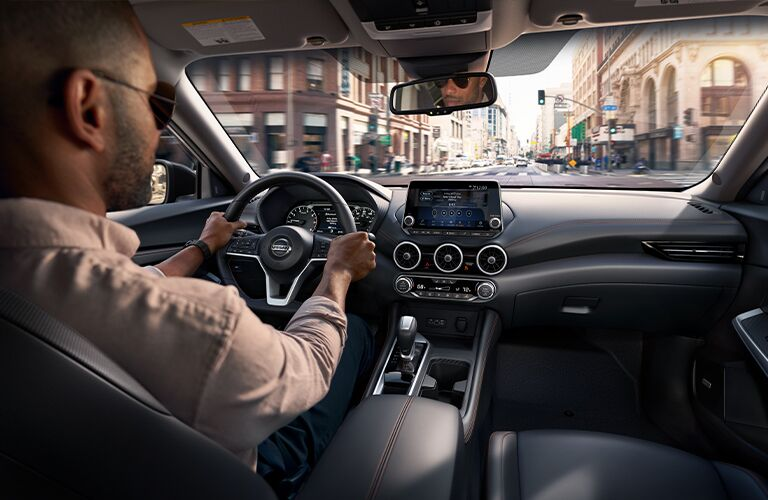 2021 Nissan Sentra dashboard