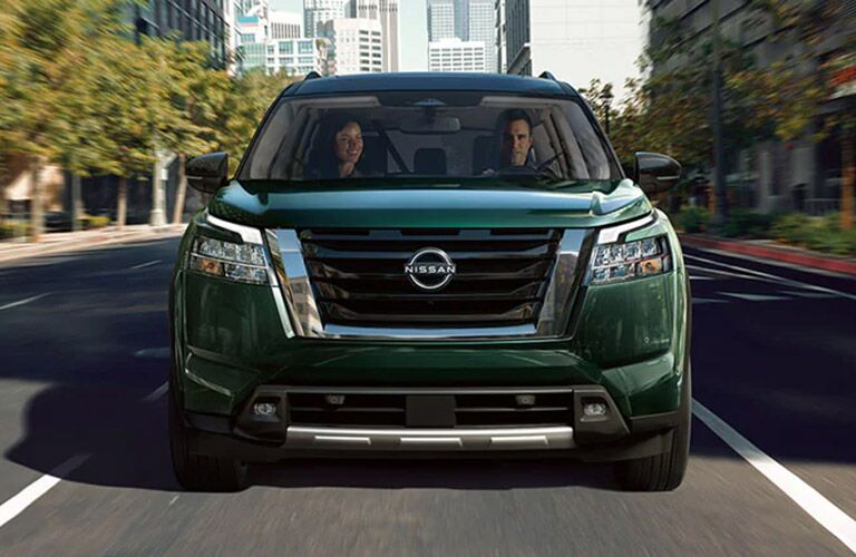2022 Nissan Pathfinder from the front