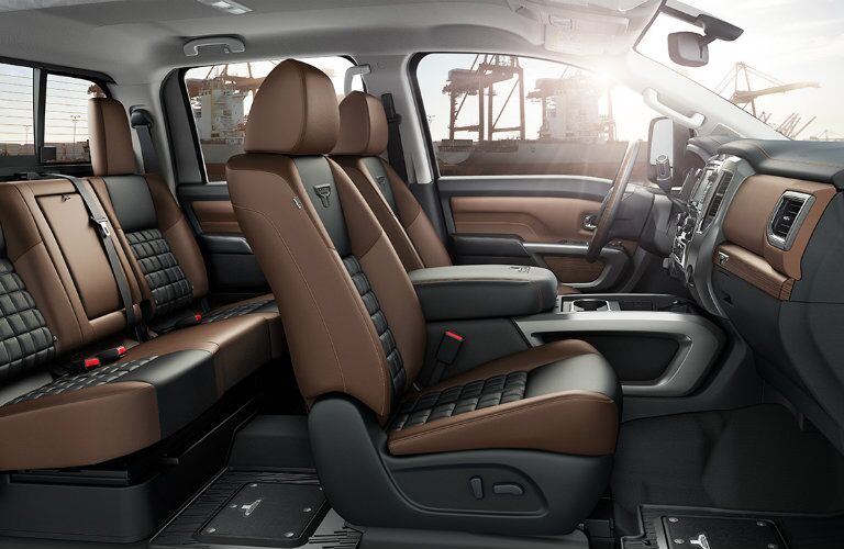 2017 Nissan Titan XD interior features