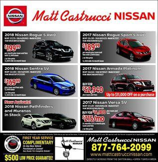 April Nissan Deals