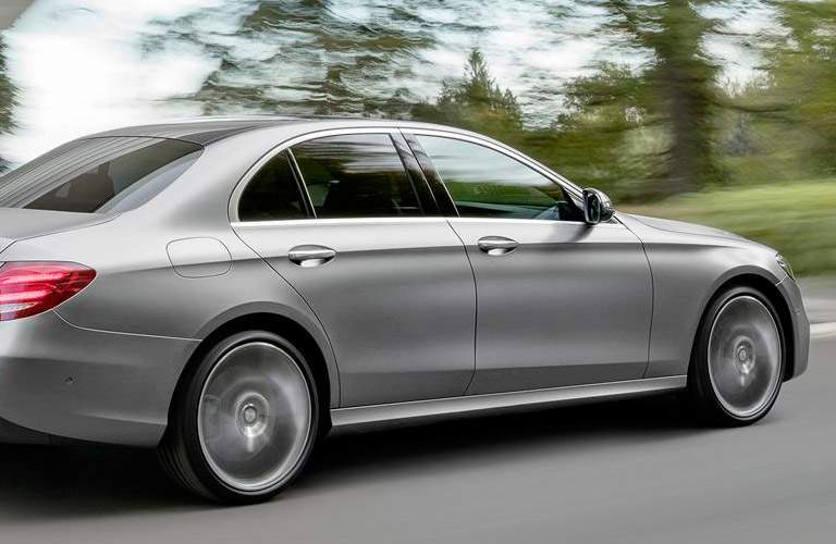2017 Mercedes-Benz E-Class on the road