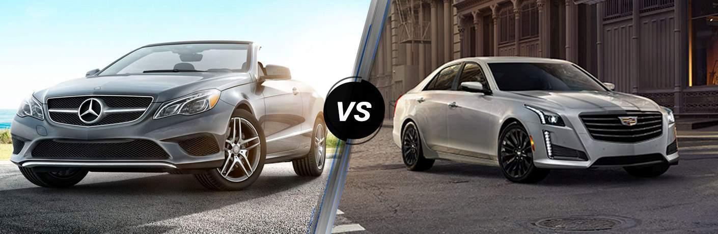 2017 Mercedes-Benz E-Class vs 2017 Cadillac CTS