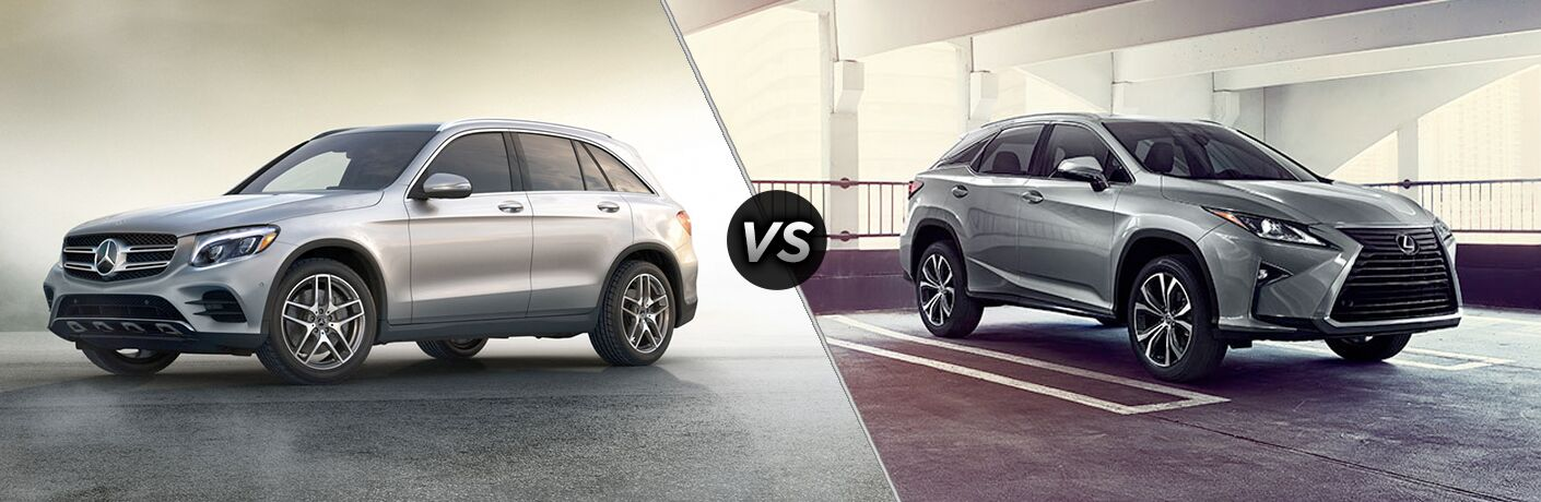 2018 Mercedes-Benz GLC vs 2018 Lexus RX