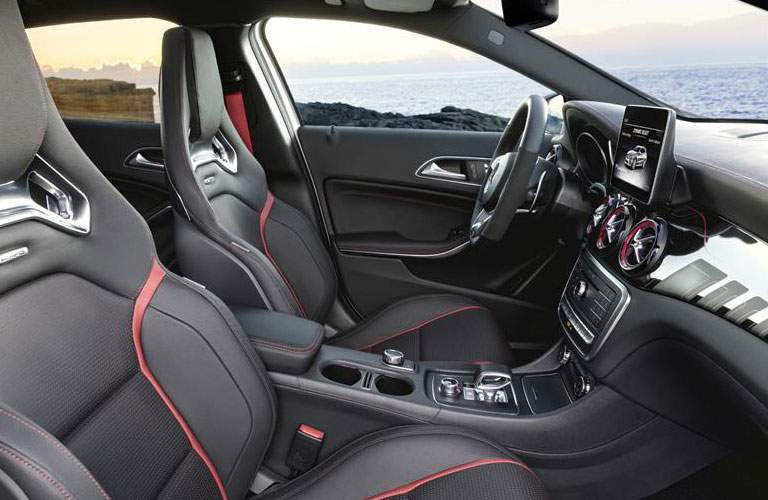 sport seats in the Mercedes-Benz AMG GLA