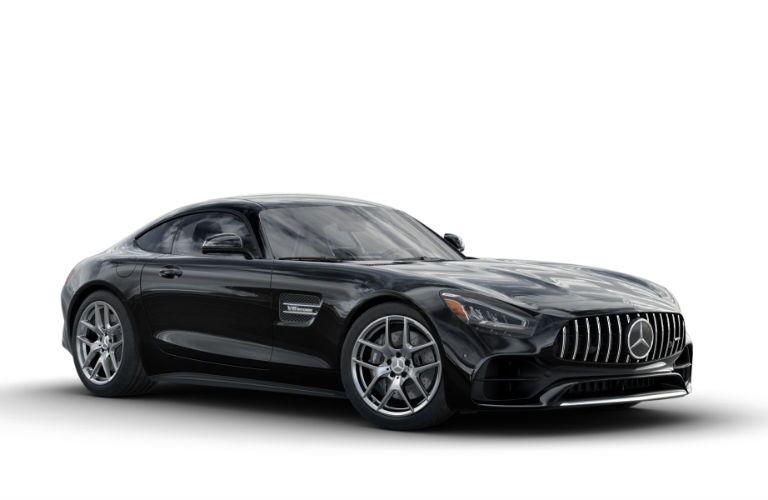 2020 Mercedes-AMG GT Coupe Exterior Passenger Side Front Profile