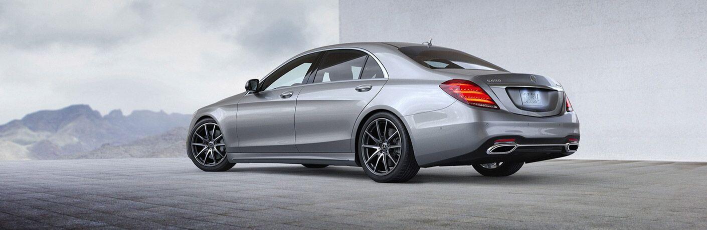 2020 Mercedes-Benz S 450 Sedan Exterior Driver Side Rear Profile