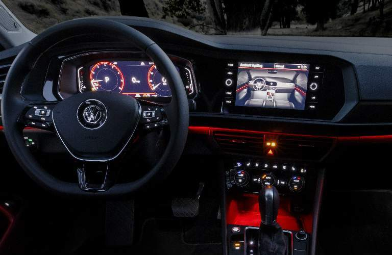 2019 Volkswagen Jetta Steering Wheel, Gauges and Touchscreen