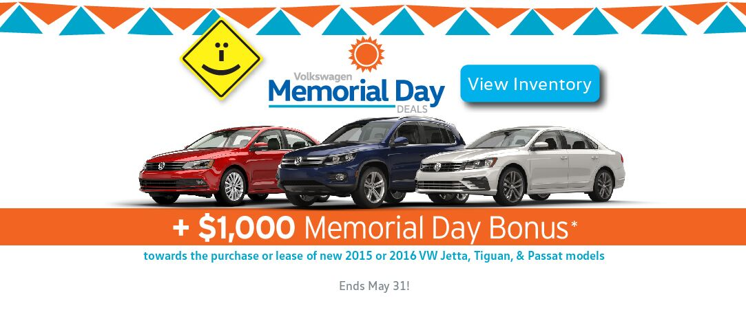 money saving specials at capistrano volkswagen with memorial day bonus. Black Bedroom Furniture Sets. Home Design Ideas