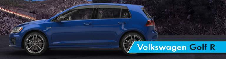 Volkswagen Golf R Title and Blue 2017 Volkswagen Golf R