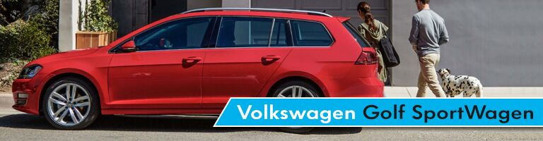 Volkswagen Golf SportWagen Title and Red 2017 Volkswagen Golf SportWagen