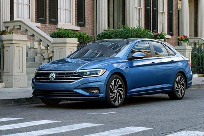 The 2019 Volkswagen Jetta's new design