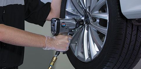 Professionally installed tires in Normal, IL