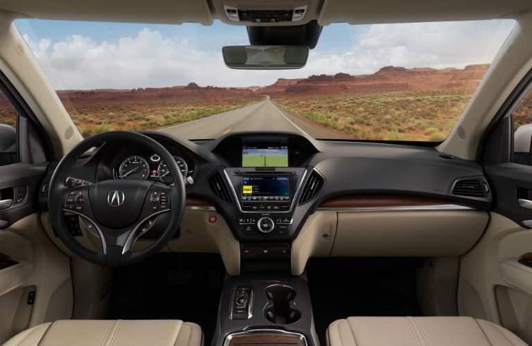 2018 Acura MDX interior dashboard