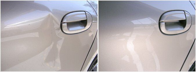 Paintless Dent Removal at Motorcars Acura