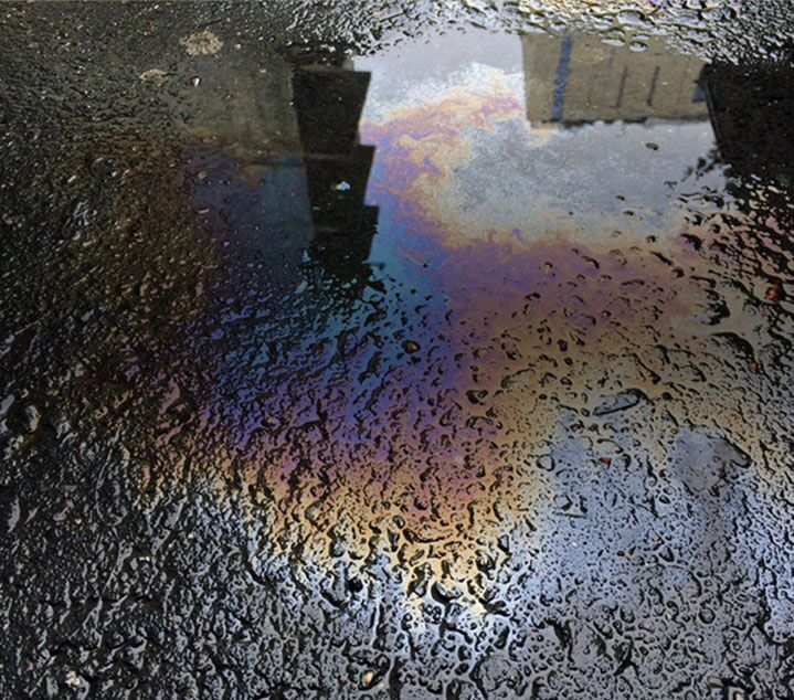 Are there oil stains under your car?