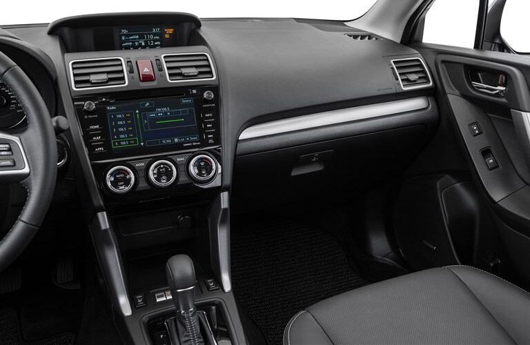 2017 Forester infotainment system,