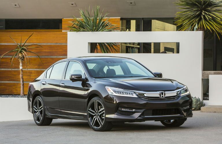 View of the front of the 2017 Honda Accord