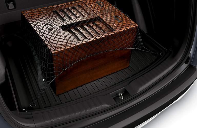 Box in trunk of 2017 Honda CR-V EX-L