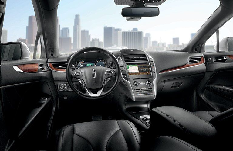 2017 Lincoln MKC navigation system